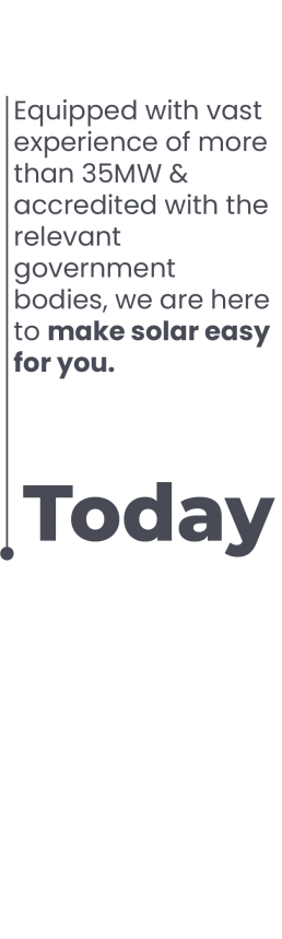 Today I2 Energy make solar easy for you